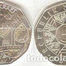 Euros: AUSTRIA - 5 EUROS 2003 - KM#3105 - EL PODER DEL AGUA. Lote 96161007