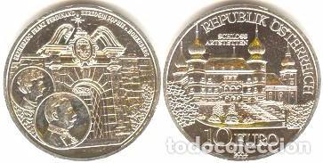 AUSTRIA - 10 EUROS 2004 - KM#3115 - CASTILLO DE ARTSTETTEN (Numismática - España Modernas y Contemporáneas - Ecus y Euros)