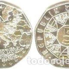 Euros: AUSTRIA - 5 EUROS 2004 - KM#3122 - AMPLIACIÓN DE LA UNIÓN EUROPEA. Lote 96326839