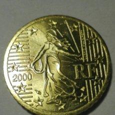 Euros: FRANCIA 50 CÉNTIMOS EURO 2000.SC. Lote 96544322