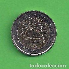 Euros: MONEDA - ESPAÑA - 2 EUROS CONMEMORATIVOS - 50 AÑOS TRATADO DE ROMA - 2007 - CIRCULADA.. Lote 96696423