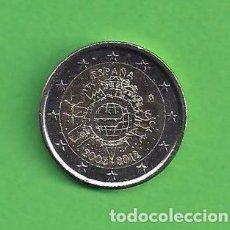 Euros: MONEDA - ESPAÑA - 2 EUROS CONMEMORATIVOS - 10º ANIV. INTRODUCCIÓN DEL EURO - 2012 - CIRCULADA.. Lote 96708887