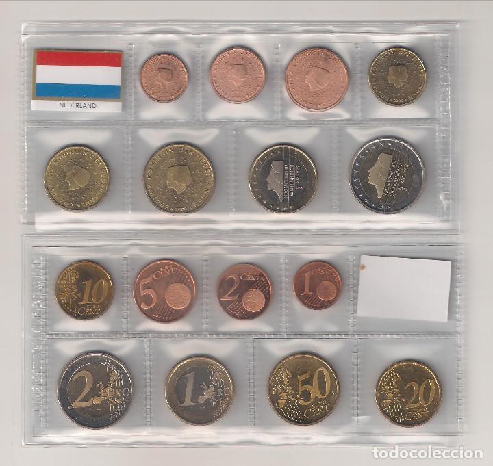 TIRA MONEDAS DE EUROS DE HOLANDA DE 2010. SIN CIRCULAR. (Numismática - España Modernas y Contemporáneas - Ecus y Euros)
