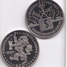 Euros: HOLANDA 1997- 1 ECU - CONMEMORATIVO DEL PLAN MARSHALL . Lote 97405763