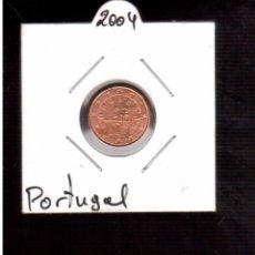 Euros: MONEDAS DE EUROS PORTUGAL 1 CENTIMO 2004. Lote 98155619