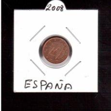 Euros: MONEDAS DE EUROS ESPAÑA 1 CENTIMO 2008. Lote 98155691