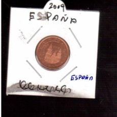 Euros: MONEDAS DE EUROS ESPAÑA 2 CENTIMOS 2009. Lote 98155843