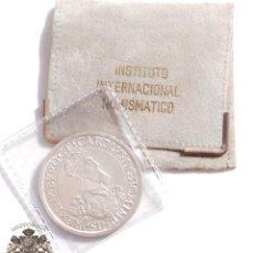 Euros: MONEDA DE PLATA DE 5 ECUS DE BELGICA CARLOS V AÑO 1987. Lote 99451111