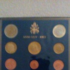 Euros: CARTERA OFICIAL VATICANO 2002. Lote 100449131