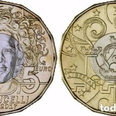Euros: SAN MARINO 2017. MONEDA DE 5 EUROS CONMEMORATIVA DE SIMONCELLI.. Lote 195215835