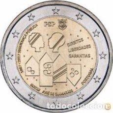 Euros: PORTUGAL 2017. MONEDA DE 2 EUROS CONMEMORATIVA DE LOS 150 AÑOS DE LA SEGURIDAD NACIONAL. Lote 101195347