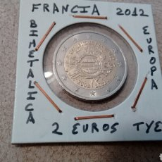 Euros: MONEDA 2 EUROS FRANCIA 2012 TYE MBC ENCARTONADA. Lote 210636218