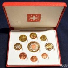 Euros: SET EUROS DE PRUEBA SUIZA EURO 2002. Lote 103600375