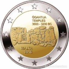 Euros: 2 EUROS CONMEMORATIVA MALTA 2016 TEMPLOS GGANTIJA SC. Lote 104209683