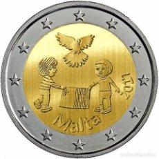 Euro: 2 EUROS CONMEMORATIVA MALTA 2017 NIÑOS SOLIDARIDAD AMOR SC. Lote 180860050