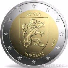 Euros: 2 EUROS LETONIA 2017 KURZEME. Lote 132042757