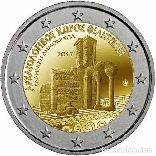 2 EUROS GRECIA 2017 SITIO ARQUEOLOGICO DE FILIPOS (Numismática - España Modernas y Contemporáneas - Ecus y Euros)