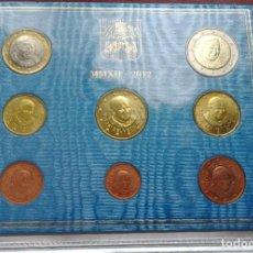 Euros: CARTERA VATICANO 2012 ,8 VALORES BENEDICTO XVI. Lote 105026203