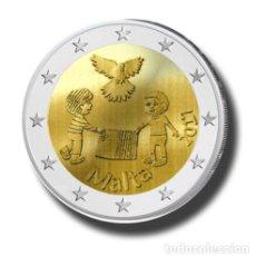 Euros: MALTA 2017 2€ LOS NIÑOS Y LA SOLIDARIDAD. Lote 129031059