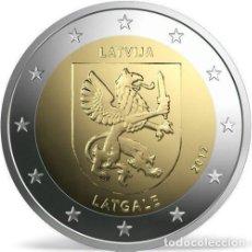 Euros: 2 EUROS CONMEMORATIVA LETONIA 2017 LATGALE SC. Lote 190131063