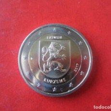 Euros: LETONIA. 2 EUROS CONMEMORATIVOS 2017. KURZEME.. Lote 107482971