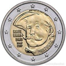 Euros: PORTUGAL 2 EUROS 2017 150 AÑOS DEL NACIMIENTO DE RAÚL BRANDAO. Lote 254869865