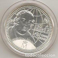 Euros: ESPAÑA 2006. 12 EUROS DE PLATA CONMEMORATIVOS DE CRISTOBAL COLON. EN CAPSULA (5). Lote 107773483