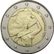 Euros: 2 EUROS CONMEMORATIVA MALTA 2014 INDEPENDENCIA SC. Lote 77935347