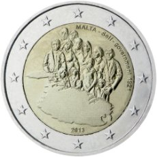 Euros: 2 EUROS CONMEMORATIVA MALTA 2013 AUTOGOBIERNO SC. Lote 77935383