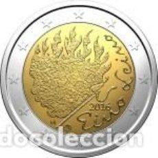 Euros: FINLANDIA 2016 2 EUROS. 90 AÑOS DEL FALLECIMIENTO DE EINO LEINO. Lote 195456898