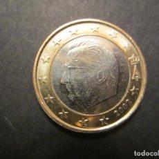 Euros: MONEDA DE 1 EURO DE BÉLGICA DE 2002 (SIN CIRCULAR). Lote 110411135