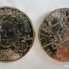 Euros: SAN MARINO 2017 5€ MARCO SIMONCELLI. Lote 111045819