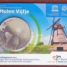 Euros: 5 EUROS HOLANDA -EL MOLINO VIENTO- 2014 EN COINCARD (BLISTER-CARNET). Lote 180044565