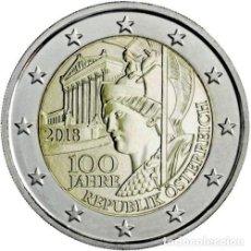 Euros: 2 EUROS AUSTRIA 2018 100 ANIV. REPUBLICA. Lote 132042889