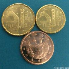 Euros: ANDORRA 2014 5 10 20 CÉNTIMOS. Lote 48672387