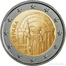Euros: ESPAÑA 2018. MONEDA DE 2 EUROS CONMEMORATIVA DE SANTIAGO DE COMPOSTELA. Lote 113091252