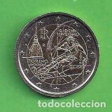 Euros: MONEDA - ITALIA - 2 EUROS CONMEMORATIVOS - JUEGOS DE INVIERNO TURÍN - 2006 - CIRCULADA.. Lote 111966475