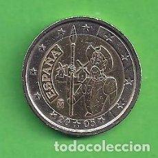 Euros: MONEDA - ESPAÑA - 2 EUROS CONMEMORATIVOS - EL QUIJOTE - 2005 - CIRCULADA.. Lote 111973255