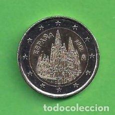 Euros: MONEDA - ESPAÑA - 2 EUROS CONMEMORATIVOS - CATEDRAL DE BURGOS - 2012 - CIRCULADA.. Lote 111974023