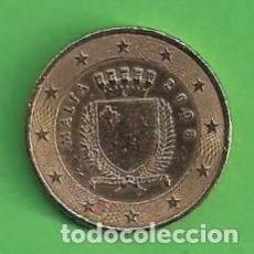 Euros: MONEDA - MALTA - 0.50 CÉNTIMOS DE EURO - ESCUDO DE MALTA - 2008 - C.. Lote 111990899
