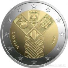 Euros: 2 EUROS CONMEMORATIVA LETONIA 2018 ESTADOS BALTICOS SC. Lote 113105847