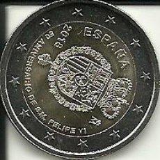 Euros: MONEDA DE 2 € CONMEMORATIVA DEL 50 ANIVERSARIO DEL REY FELIPE VI. Lote 113113095