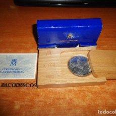 Euros: 5 ECU DE PLATA LEY 1989 SIN CIRCULAR CAJA DE MADERA ESTUCHE DE CARTON PRIMERA EMISION ESPAÑA EURO. Lote 113420563