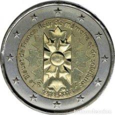 Euros: FRANCIA 2018 2€ LE BLEUET. Lote 194759086