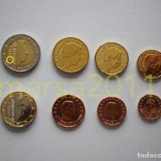 Euros: LUXEMBURGO 2018 SERIE DE EUROS, CON NUEVA MARCA DE CECA. Lote 162060078