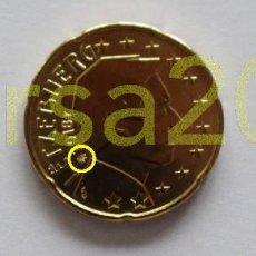 Euros: LUXEMBURGO 2018 0,20€ CON NUEVA MARCA DE CECA. Lote 200822445