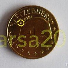 Euros: LUXEMBURGO 2018 0,10€ CON NUEVA MARCA DE CECA. Lote 201107543