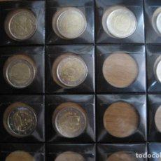 Euros: SERIE DE MONEDAS DE 2 EUROS ESPAÑA CONMEMORATIVAS PARA SEGUIR COLECCIONANDO 9 MONEDAS. Lote 114959963