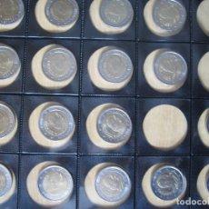 Euros: SERIES DE MONEDAS DE 2 EUROS ESPAÑA REY EN HOJAS PARA SEGUIR COLECCIONANDO 17 MONEDAS. Lote 114963635