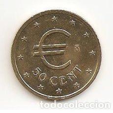 Euros: SERIE DEL EURO EN PRUEBA MONEDA 50 CÉNTIMOS 1998 MADRID. (COBRE-NÍQUEL-ALUMINIO) S/C. Lote 115069575
